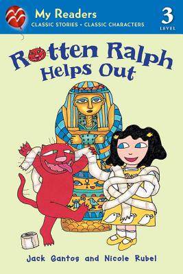 Rotten Ralph Helps Out By Gantos, Jack/ Rubel, Nicole (ILT)